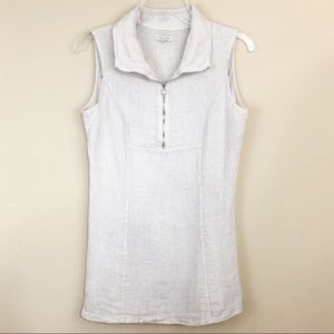 39598e31d9 Lina Tomei Tops - Lina Tomei Made In Italy Linen Sleeveless Top